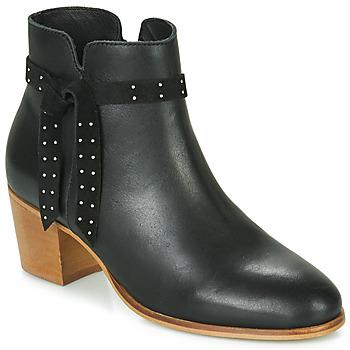 Zapatos Mujer Botines André ROMANE Negro