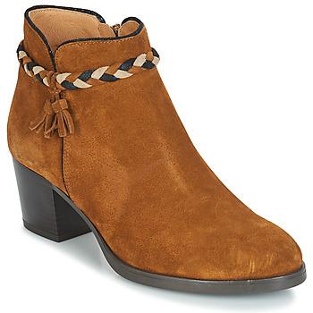 Zapatos Mujer Botines André RADIEUSE Marrón
