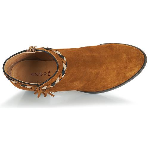 Mujer André Marrón Radieuse Botines Zapatos SzUpVM