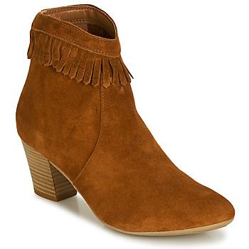 Zapatos Mujer Botines André RILAN Cognac