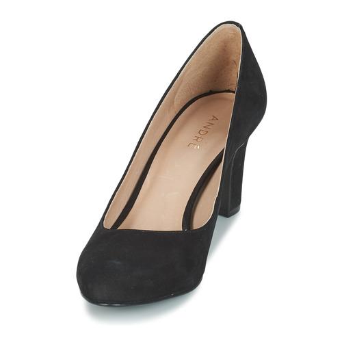 Zapatos Mujer Cintia De Negro Tacón André tsQBrxhdC