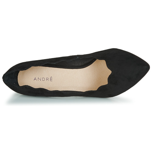André De Tacón Mujer Negro Saphir Zapatos FKTc3Jul1