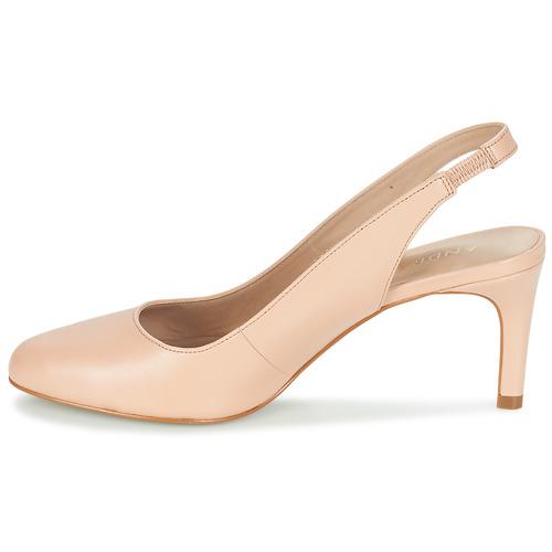 Casino Zapatos Mujer De Tacón Beige André 0Ovm8Nwn