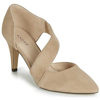 Zapatos Mujer Zapatos de tacón André SOIE Beige