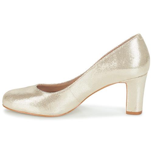 De Mujer André Oro Tacón Cintia Zapatos Aq35jLR4