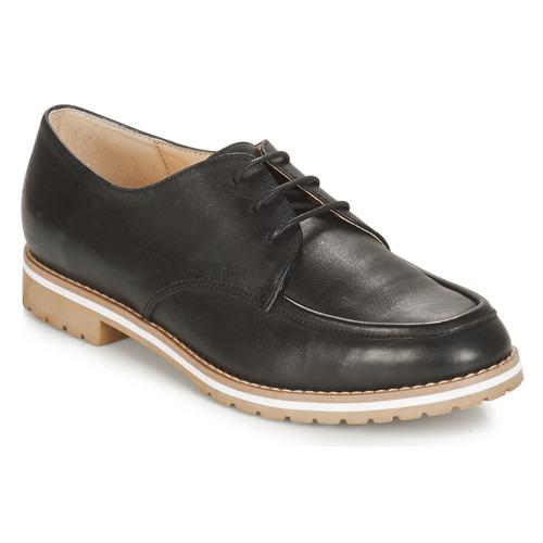 André CHARLELIE Negro - Envío gratis   ! - Zapatos Derbie Mujer