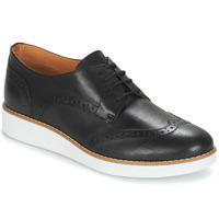 Zapatos Mujer Derbie André CAROU Negro