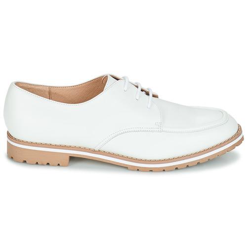 Mujer Zapatos Charlelie André Derbie Blanco mNwOv80n