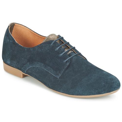 André CAMARADE Azul - Envío gratis | ! - Zapatos Derbie Mujer