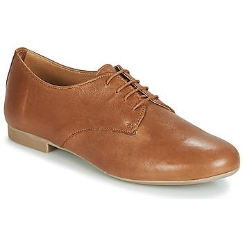 Zapatos Mujer Derbie André COMPLICITY Camel