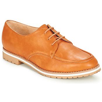 Zapatos Mujer Derbie André CHARLELIE Camel