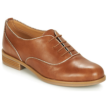 Zapatos Mujer Derbie André CHOMINE Camel