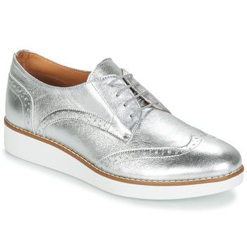 Zapatos Mujer Derbie André CAROU Plata