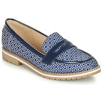 Zapatos Mujer Mocasín André PORTLAND Azul