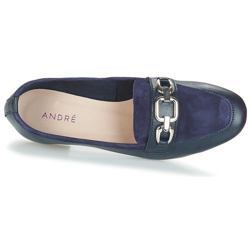 Zapatos Mujer Criollo André Azul Mocasín JFcTK1l