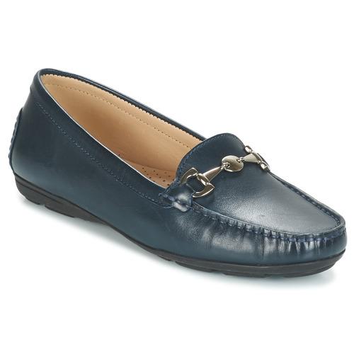 André CABRIOLE Azul - Envío gratis | ! - Zapatos Mocasín Mujer