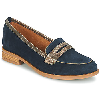 Zapatos Mujer Mocasín André ROAD Azul