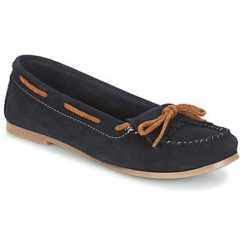 Zapatos Mujer Mocasín André REE Azul
