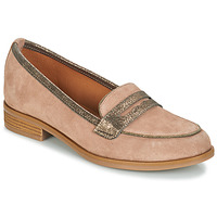 Zapatos Mujer Mocasín André ROAD Beige