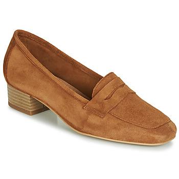 Zapatos Mujer Mocasín André SENLIS Camel