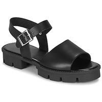 Zapatos Mujer Sandalias André ABRICOT Negro