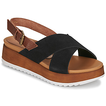 Zapatos Mujer Sandalias André REINE Negro