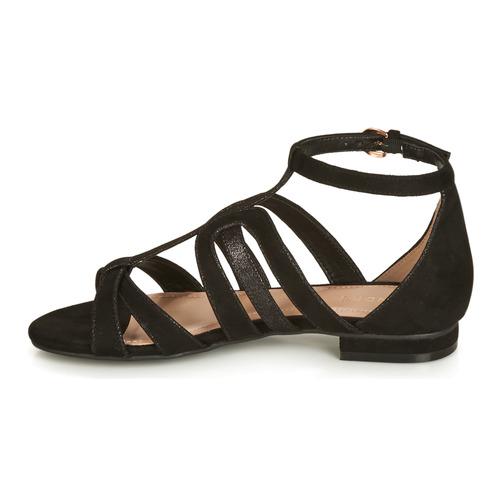Mujer Sandalias Negro André Zapatos Chyprius PZukOXiT
