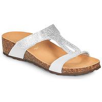 Zapatos Mujer Sandalias André REVERA Plata / Blanco