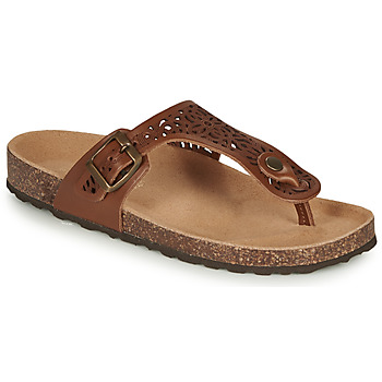 Zapatos Mujer Chanclas André RILA Camel