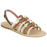 Zapatos Mujer Sandalias André SECRETE Beige