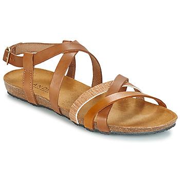 Zapatos Mujer Sandalias André ATTLAS Marrón