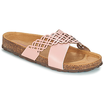 Zapatos Mujer Zuecos (Mules) André ROULADE Rosa