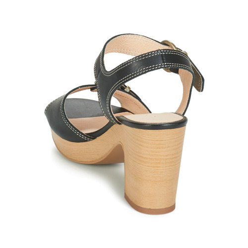 Mujer Roulotte Zapatos Negro Sandalias André Yf76vbgy