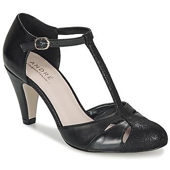 Zapatos Mujer Zapatos de tacón André CANCAN Negro
