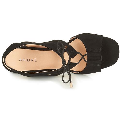 Mujer Negro Starlet Sandalias André Zapatos nymwOv8N0
