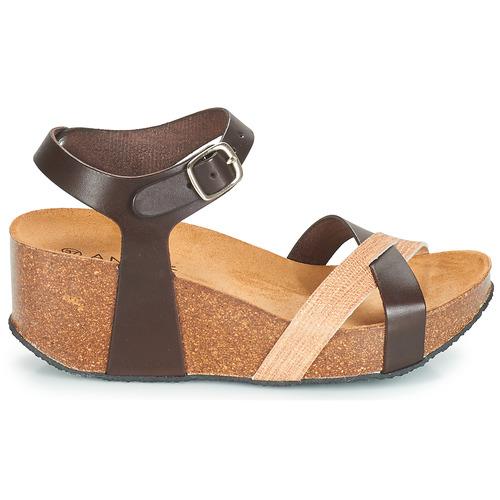 Zapatos Sandalias André Marrón Hera Mujer 2EHDIW9