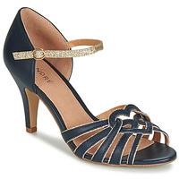Zapatos Mujer Sandalias André CAGLIARI Marino