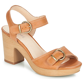 Zapatos Mujer Sandalias André ROULOTTE Camel