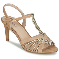 Zapatos Mujer Sandalias André CALECHE Beige