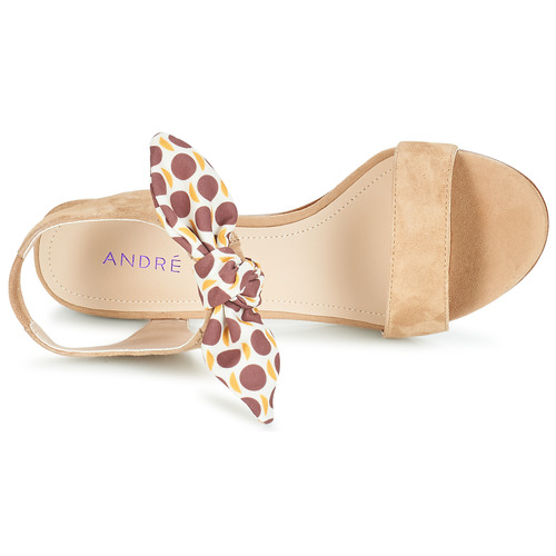 André Supens Sandalias Mujer Beige Zapatos kwn0PO