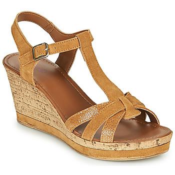 Zapatos Mujer Sandalias André ALOE Camel