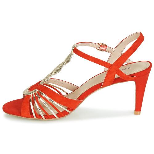 Sandalias Rojo André Mujer Zapatos Caleche hxtQrdCsBo
