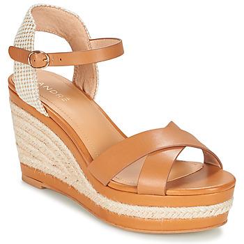 Zapatos Mujer Sandalias André SAND Camel