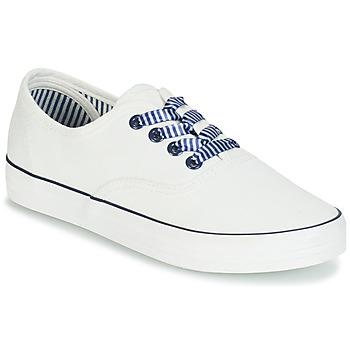 Zapatos Mujer Zapatillas bajas André STEAMER Blanco
