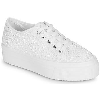 Zapatos Mujer Zapatillas bajas André SODA Blanco