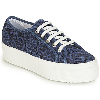 Zapatos Mujer Zapatillas bajas André SODA Azul
