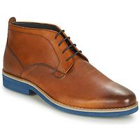 Zapatos Hombre Botas de caña baja André CLAPOTIS Cognac