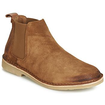 Zapatos Hombre Botas de caña baja André RONNY Cognac