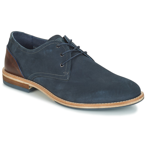 André LIBERO Azul - Envío gratis | ! - Zapatos Derbie Hombre