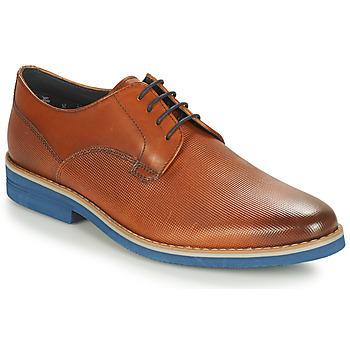 Zapatos Hombre Derbie André CANOE Cognac / Azul